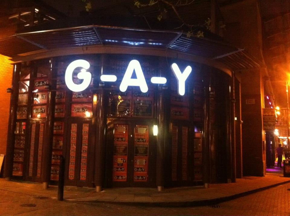 Have you ever been to a gay bar?